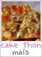 mini cakes thon maïs poivron rouge - index