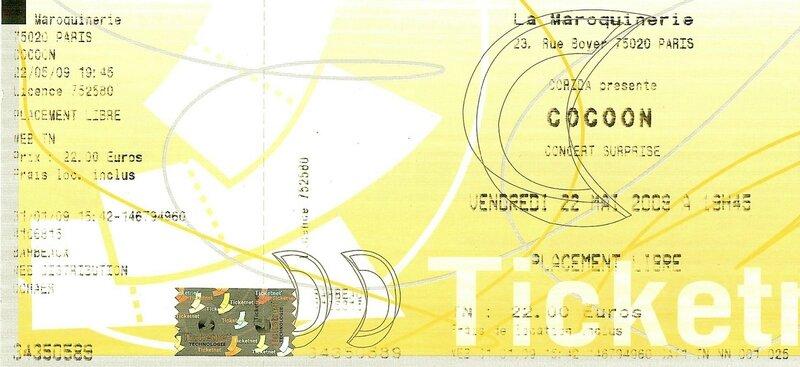 2009 05 Cocoon La Maroquinerie Billet