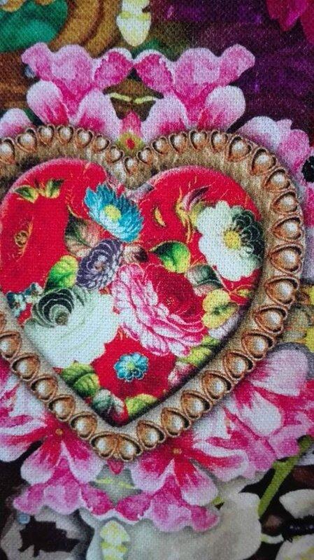 Veste VICTORINE en toile de coton imprimée zèbre-léopard-rose-violet - Doublure de satin noire (17)