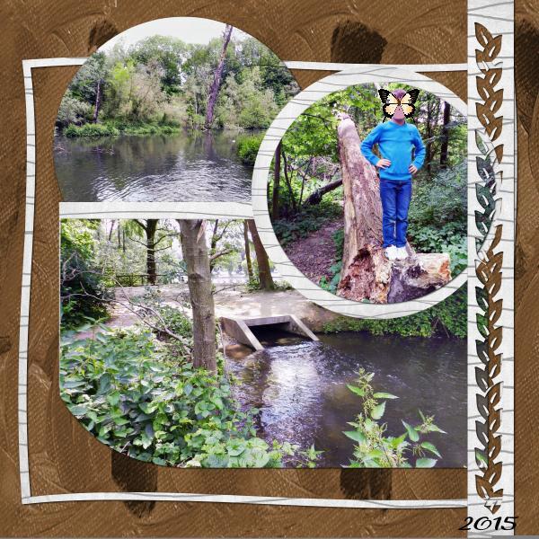 * Escapade aux étangs Malou