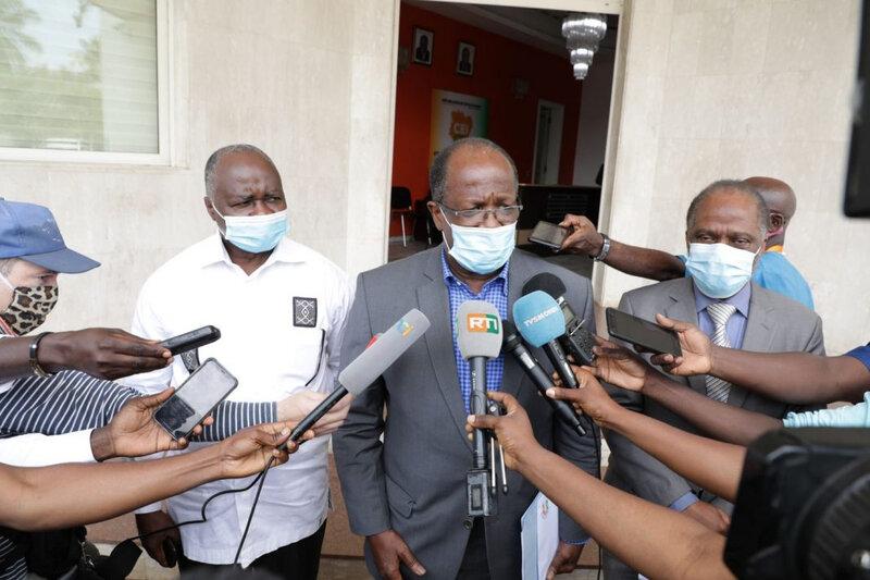 """Georges Armarnd Ouégnin : """" Nous allons lui démontrer par A+B que le président Gbagbo n'a pas perdu ses droits civiques."""""""