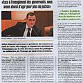 Gilles simeoni: une parole corse qui compte dans la campagne des élections européennes