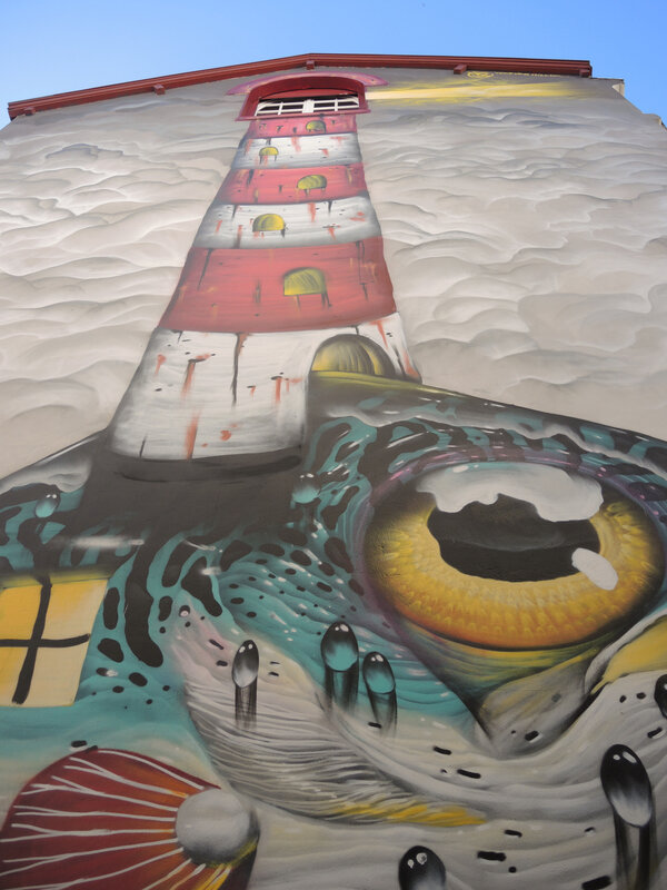 Bayonne, Festival Street art Points de vue 2019, fresque VEK VAN HILLIK, 2017 (64)