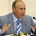 Vladimir poutine l'ennemi a abattre pour les occidentaux !