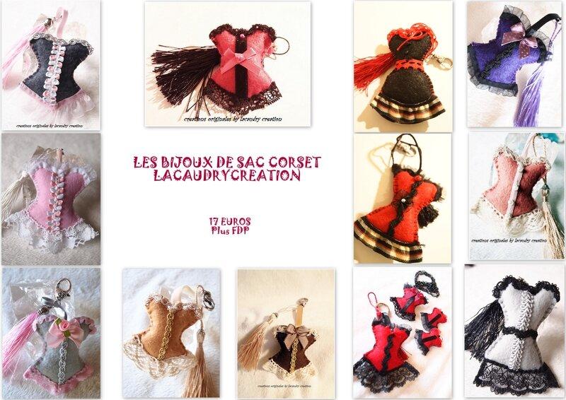 LES BIJOUX DE SAC CORSET LACAUDRY CREATION
