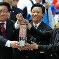 Arrivée de la flamme olympique à Hong Kong 4