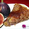 Tarte aux figues et crème de pistache