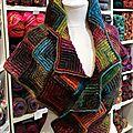Crochet modulaire en noro 2