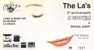 1991_03_The_Las_Cigale_Billet