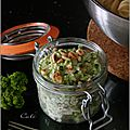 Sauce brocoli, pignons & philadelphia