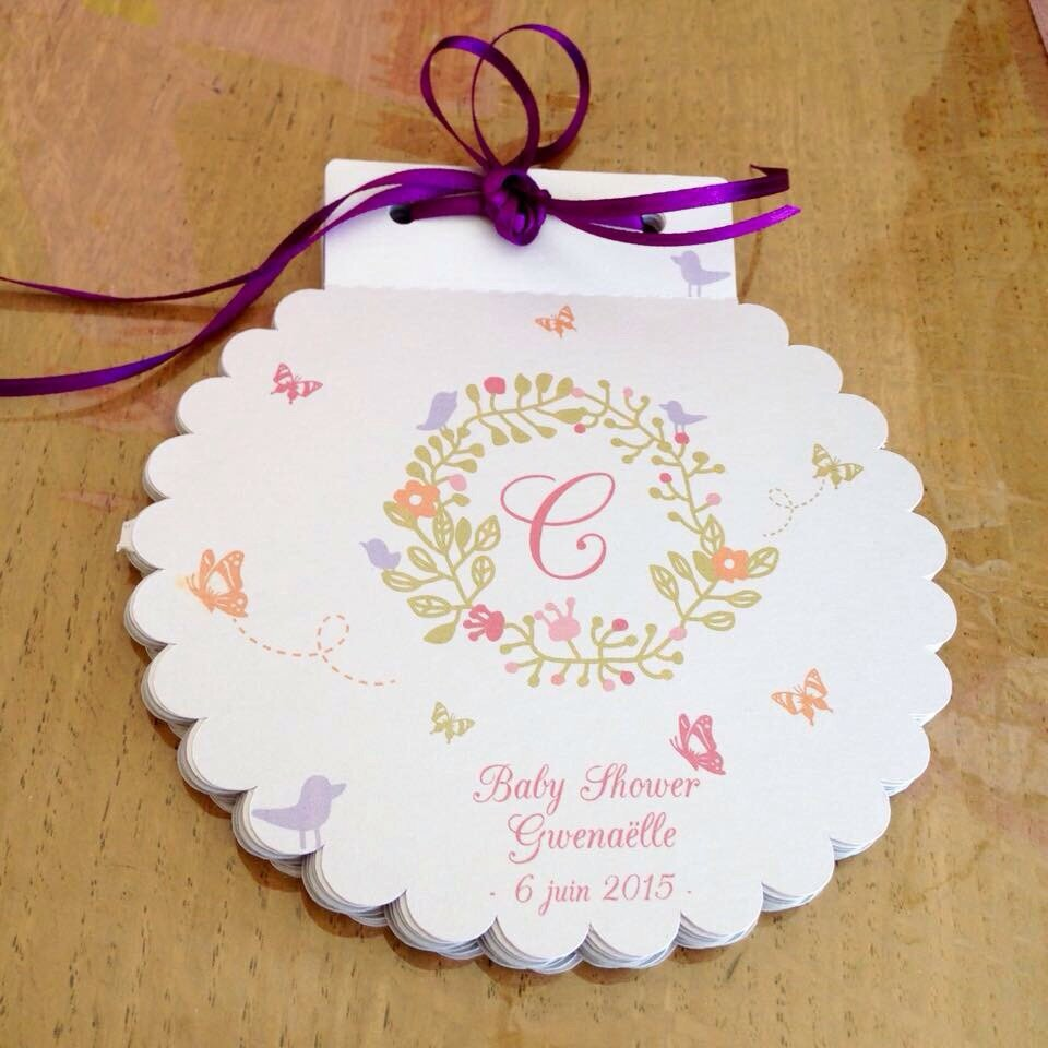 Livre D Or Baby Shower Collection Envolee De Papillons