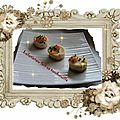 Mini cheese cakes saumon fumé
