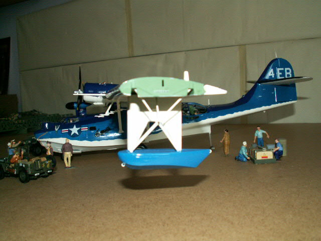 maquette du PBY- CATALINA (version 1948) (5)