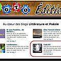 Loto edition au coeur des blogs littérature et poésie 17062013