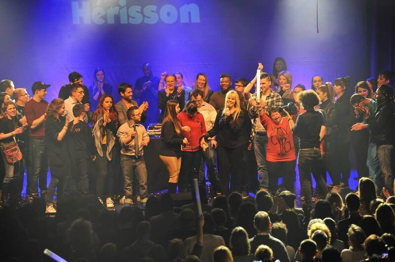 gala du hérisson photo souvenir