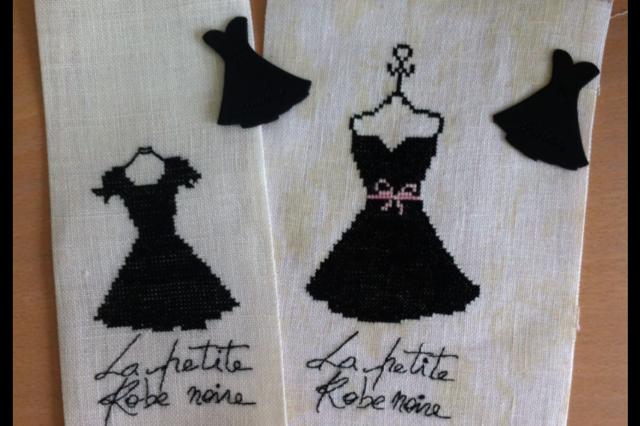 la petite robe noire broderies