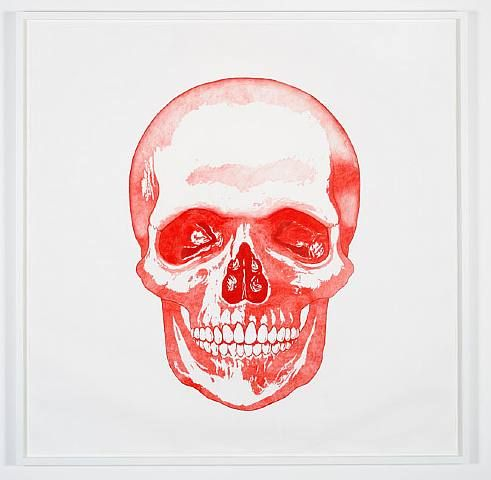 Keren Cytter, Skull, 2009. Graphite on paper, h: 150 x w: 150 cm / h: 59.1 x w: 59.1 in. Pilar Corrias Gallery