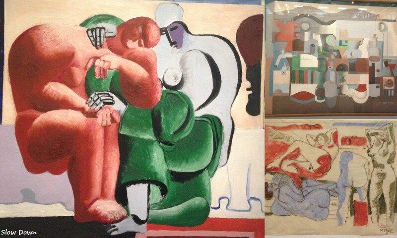Peintures Le Corbusier