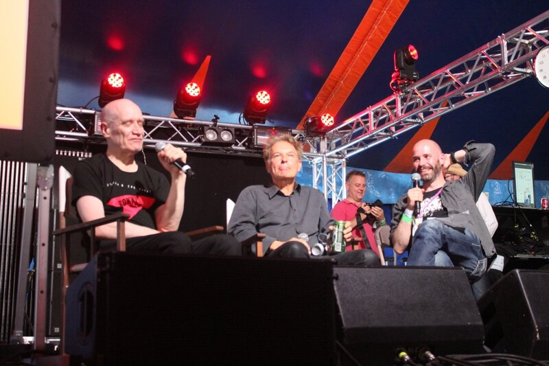 The Ecstasy of Wilko Johnson Julian Temple Dorian Lynskey Glastonbury 2015 William's Green stage