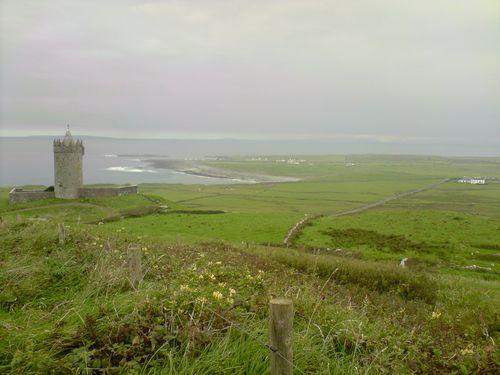 Sur le chemin du retour, escale à Doolin