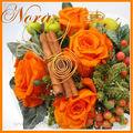 bouquet de mariée roses stabilisées NORA