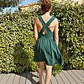[garde robe capsule 2017] : août, la robe amandine