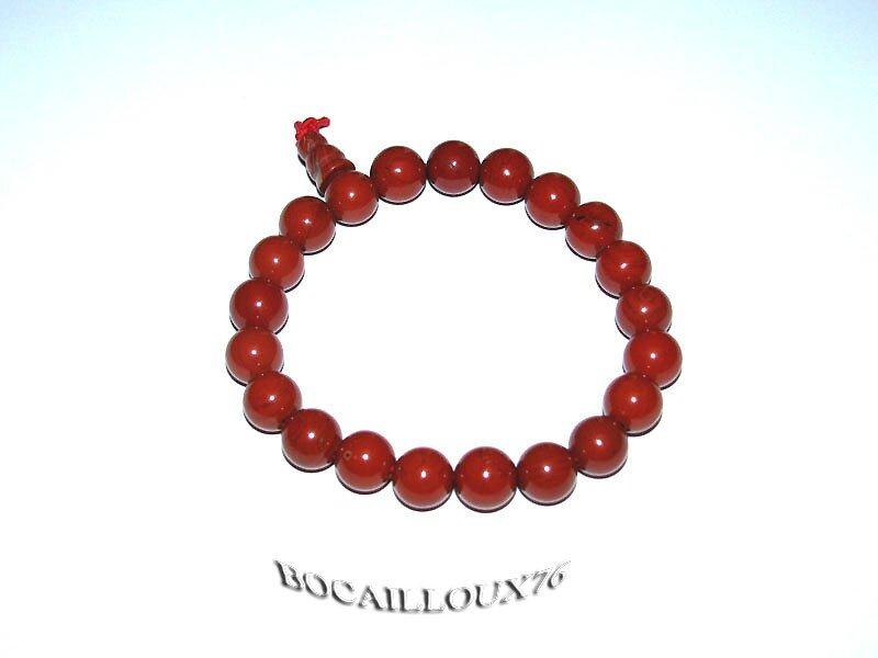 Bracelet Perles JASPE Rouge 2 (3)