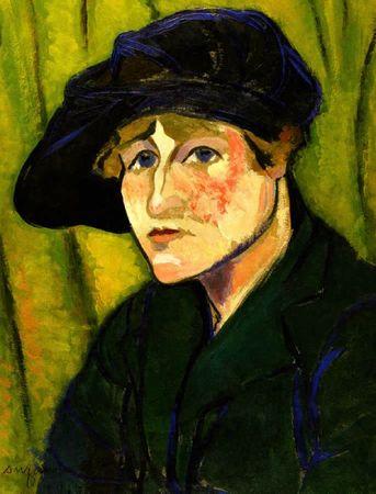 valadon-portrait de gaby 1917