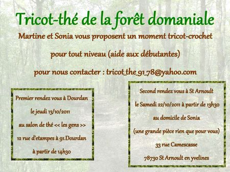 affiche tricot-the