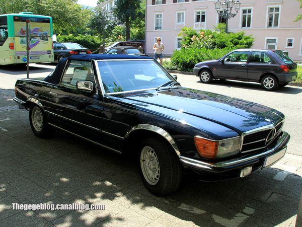 Mercedes 280 SL de 1982 (Baden-Baden) 01