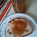 Confiture rhubarbe/ pamplemousse