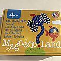 Nous avons découvert le jeu magnétic land les ani'drôles (sepp jeux)