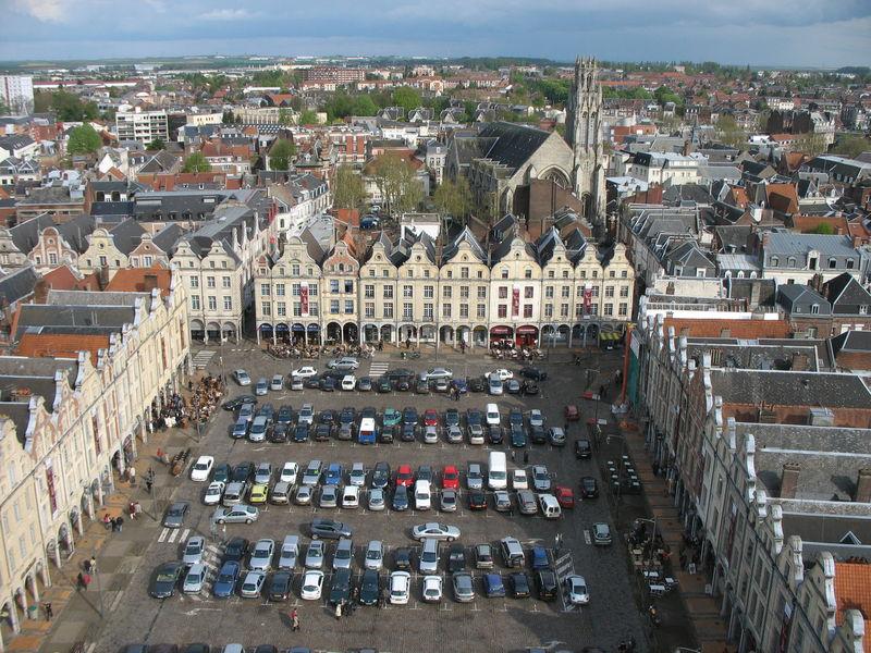 Arras, au sommet du beffroi (62)