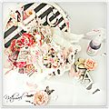 Miss butterfly / scrapbook tendance