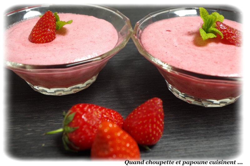 mousse de fraises-2530