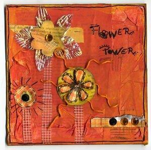 Power Flower, juillet 2008. 15X15 cm