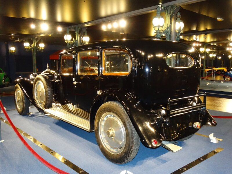 BUGATTI Royale type 41 limousine Park-Ward 1933 Mulhouse (2)