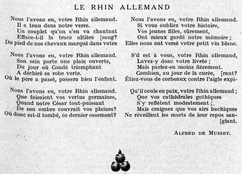 Musset le rhin all