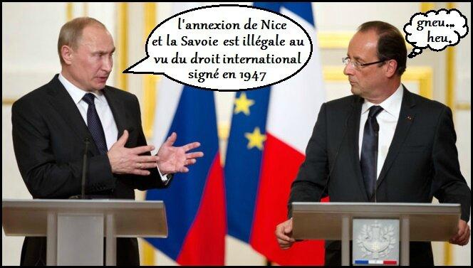 Crimee Les Droles De Lecons De La France A La Russie Deodante