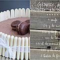 Gâteau génoise à la mousse au chocolat et finger