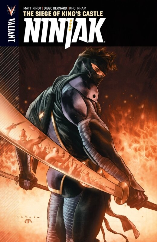 valiant ninjak vol 04 the siege of king's castle TP