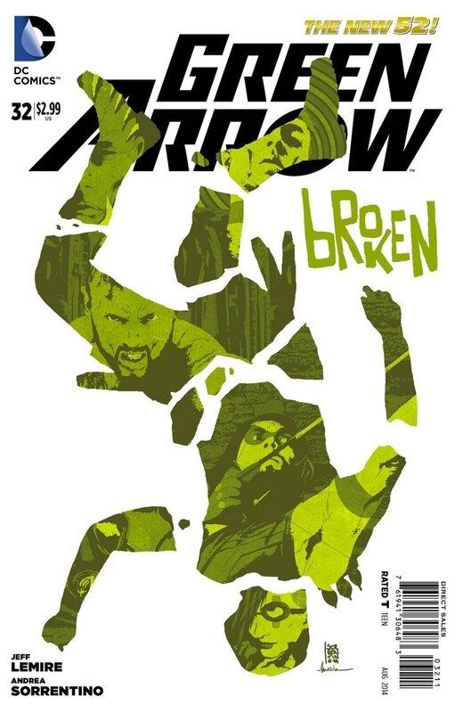 new 52 green arrow 32