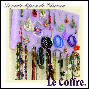 Porte bijoux maison: Fabriquer un presentoir à bijoux pas cher, bijoux fantaisie dans le coffre de gloewen et scrat (11)