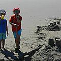 Vacances: chateaux de sable