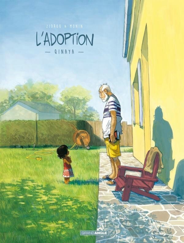 L'adoption, Zidrou - Monin