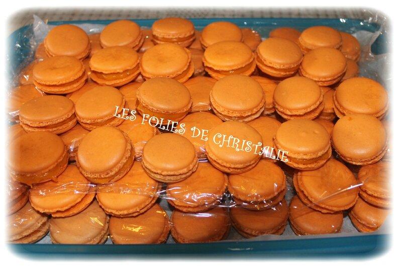 Macarons carottes 11