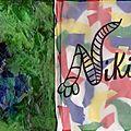 Mixed media pages pour cj - fleurs pour greenye