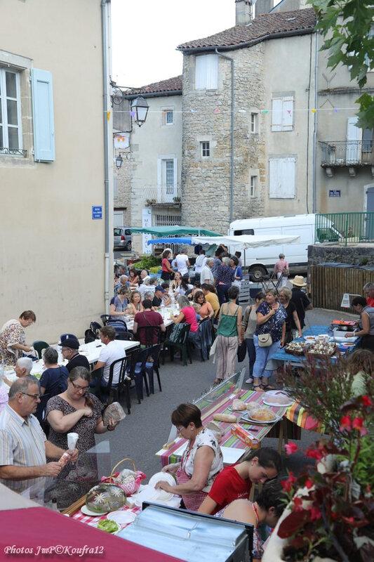 Photos JMP©Koufra 12 - Cornus - Marché de Pays - Dany Musette - 11072019 - 0025