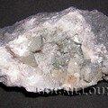 Calcite pyritee 357