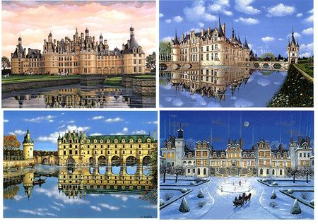 Chateaux__Suite_of_4_